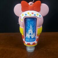 Official Disney Parks Ice Cream Minne Key Chain and Sanitizer Castle New