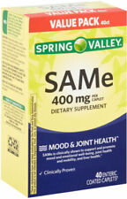 Spring Valley Same 400mg Mood Joint Health 40 Enteric Coated Caplets