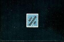 LOT 84502 MINT H B22 OVERPRINT POSTA CESKOSLOVENSKA 1919 CZECHOSLOVAKIA