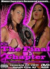 WSU Womens Wrestling - The Final Chapter DVD Nikki Roxx Jessika Havok