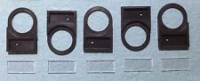 5 Pcs 22MM Legend Plate Label Holders For Control Pushbuttons And Indicators