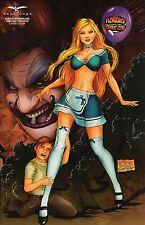 GRIMM Alice in Wonderland Florence Con  Ltd. Edition 500 Comic Book