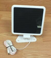 Unbranded Square White Solar Panel Charger For Outdoor Use Only **READ DETAILS**