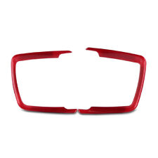 Red Headlight Switch Surround Cover Trim for BMW X5 F30 F31 F32 F34 1 3 4 Series