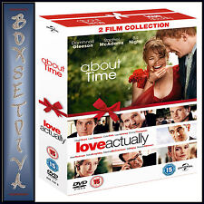 ABOUT TIME & LOVE ACTUALLY - 2 FILMS **BRAND NEW DVD BOXSET ***