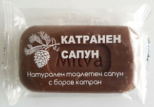 Coal Tar Pine Tar Soap Prophylaxis for Dandruff Eczema Acne Dermatitis Oily Skin