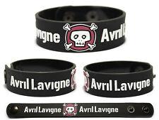 AVRIL LAVIGNE Rubber Bracelet Wristband Under My Skin Goodbye Lullaby