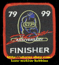 LMH Patch  STP  S.T.P. 20th ANNIVERSARY FINISHER 1979 1999 Racers Edge Bike