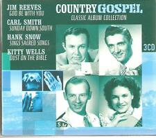 COUNTRY GOSPEL CLASSIC ALBUM COLLECTION - 3 CD BOX SET