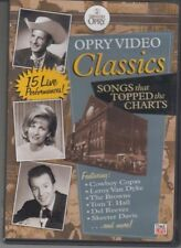 Opry Video Classics - Songs that Topped the Charts - 15 Live Performances - DVD