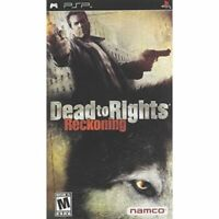 Dead To Rights Sony For PSP UMD 4E