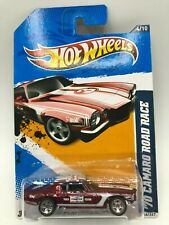 Hot Wheels  2012 Super Treasure Hunt 70 Camaro Road Race NIBP W/Protecto