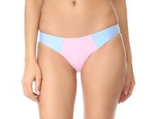 NEW PILYQ Pebble Blue Color Block Full Swim Bikini Bottom M Medium