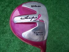 Wilson Ladies Hope Fairway Wood Pink Offset Fairway Wood Ladies Flex Shaft NEW