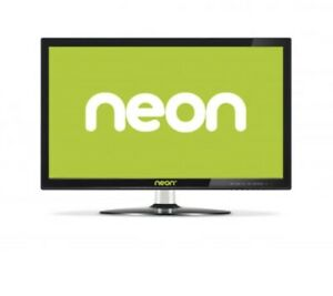 "Neon HD 21.5"" LCD CCTV BNC Surveillance Monitor W Speakers HDMI Cam"