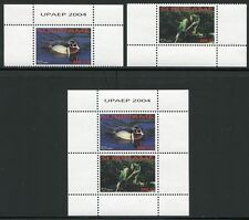 SURINAM 2004 UPAEP Ente Duck Papagei Parrot Ara 1949-50 + Bl.95 ** MNH