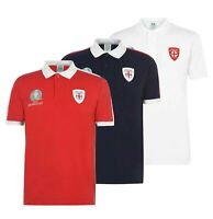Mens UEFA England Logo Football Classic Stylish Polo Shirt Sizes from S to 4XL