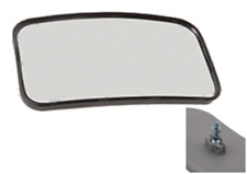 """Rearview Mirror for forklifts fits many models 8"""" x 4.5"""" (3125711)"""
