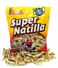 Montes Super Natilla Pecan Flavored toffee candy 6.5-oz Bag Mexican Candy