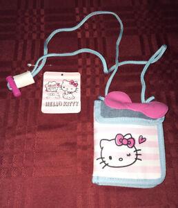 Sanrio Hello Kitty Lanyard Wallet New
