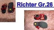 RICHTER echt leder Mädchen schuhe gr 26 farbe rot + blümchen sandalen