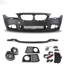 Design Stoßstange vorne+Nebel lackierfähig für BMW F10 F11 Bj. 10-13 Sport Optik