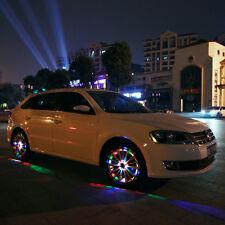 4pcs 13Modes 12 LED Car Auto Solar Energy Flash Wheel Tire Light Lamp see video