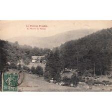 LE MORVAN le moulin du plateau timbrée 1923