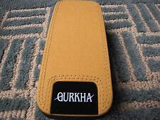 Gurkha Padded Nylon Cigar Travel Case Carrier Yellow & Black - New