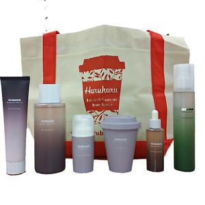 Haruharu WONDER Ultimate Set (Peeling Gel,Toner, Serum, Cream, Facial Oil, Mist)