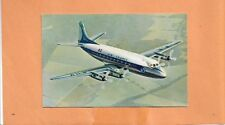 FIRST FLIGHT AIR FRANCE VICKERS VISCOUNT  POSTCARD
