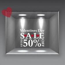 vetrofania vetrofanie adesivi murali san valentino amore love sale saldi cuori