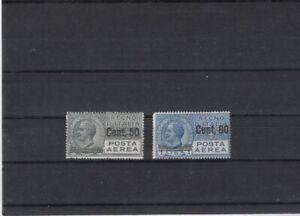 Italy 1927 Mi  270-271 MNH-MLH 100.-Eu