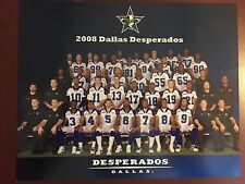 2008 Dallas Desperados Official Team Picture Photo