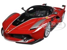 FERRARI FXX-K #10 RED 1:18 DIECAST MODEL CAR BY BBURAGO 16010
