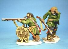 JOHN JENKINS DESIGNS BATTLE ON SNOWSHOES SRR09 ROGER'S RANGERS FALLING BACK MIB