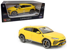 LAMBORGHINI URUS YELLOW 1/18 DIECAST MODEL CAR BY BBURAGO 11042