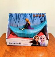 New Frozen 2 Remote Control Anna's Canoe Rc Disney Exclusive Boat In Hand Toy
