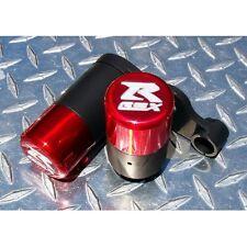 2006-10 Suzuki GSX-R 600 / 750 No-Cut 3D Frame Sliders GSXR K6 K7 K8 K9 L0 Red