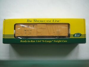 THE SHOWCASE LINE, FROM S- HELPER SERVICE, # 01286 SS MKT  #2, 96077, BOXCAR