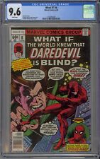 What If #8 CGC 9.6 NM+ Wp World Knew Daredevil Is Blind? Marvel Comics 1978 Owl