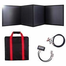 100W 12V Portable Folding Solar Panel 18V Monocrystalline with a 10A Controller