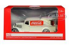 "1934 DODGE KH-32 FOUNTAIN TRUCK ""COCA-COLA"" CREAM 1/43 MOTORCITY CLASSICS 443934"