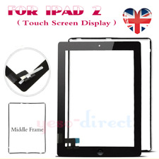 for iPad 2 Black A1395 A1396 A1397 Replacement Touch Screen Digitizer Button