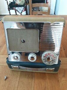 Vintage Pye Cambridge Suitcase Radio - Untested
