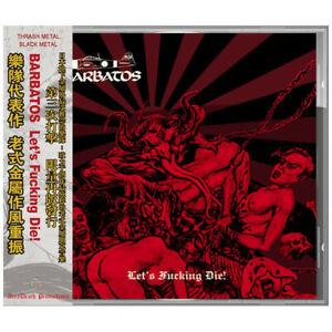 BARBATOS Let's Fucking Die!   (CD)