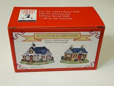 Liberty Falls All In One-Church And Social Hall N Scale Setup Accessory 1999 New