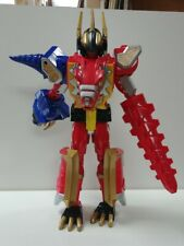 "Mighty Morphin Power Rangers Dino Thunder Talking 12"" Red Mega Battlized Ranger"