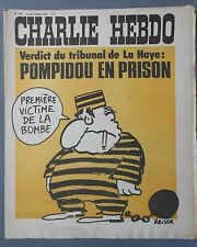 ►CHARLIE HEBDO N°137  - JUILLET 1973 - REISER