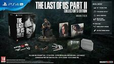 THE LAST OF US PART 2 II: COLLECTOR'S EDITION -SONY PS4!